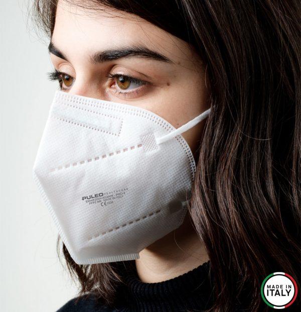 puleo healthcare respiratore filtrante ffp2 bianca00