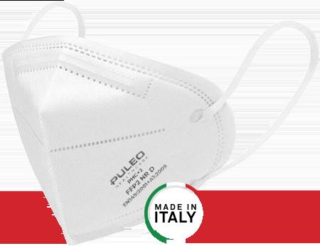 puleo healthcare mascherina ffp2 made in italy