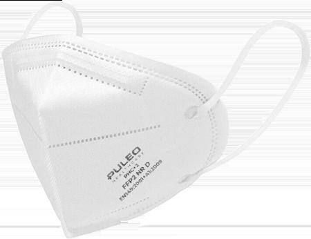 puleo healthcare mascherina ffp2 white 1